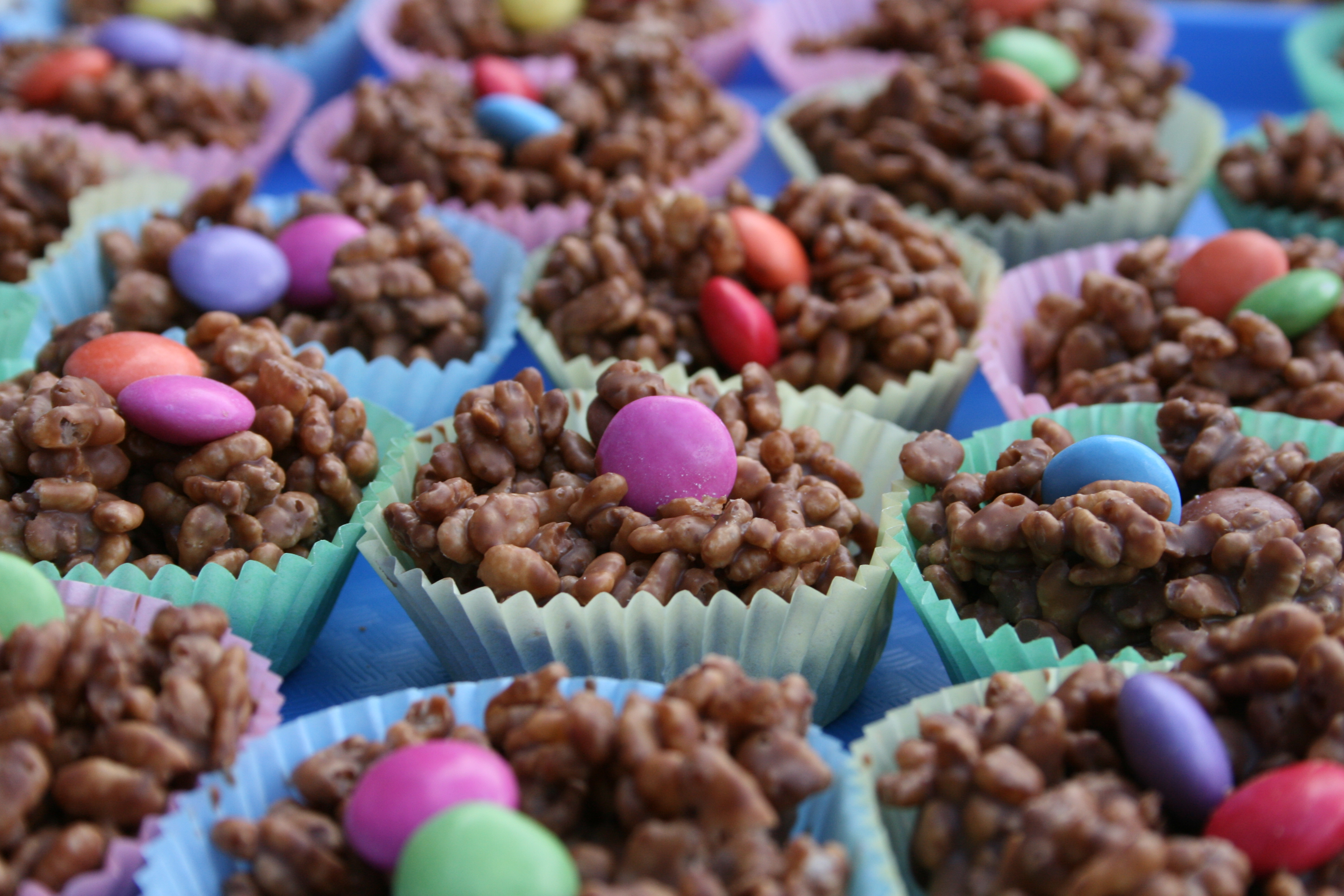 Easter - cocopop nests_Student friendly Easy Easter recipes in student flat
