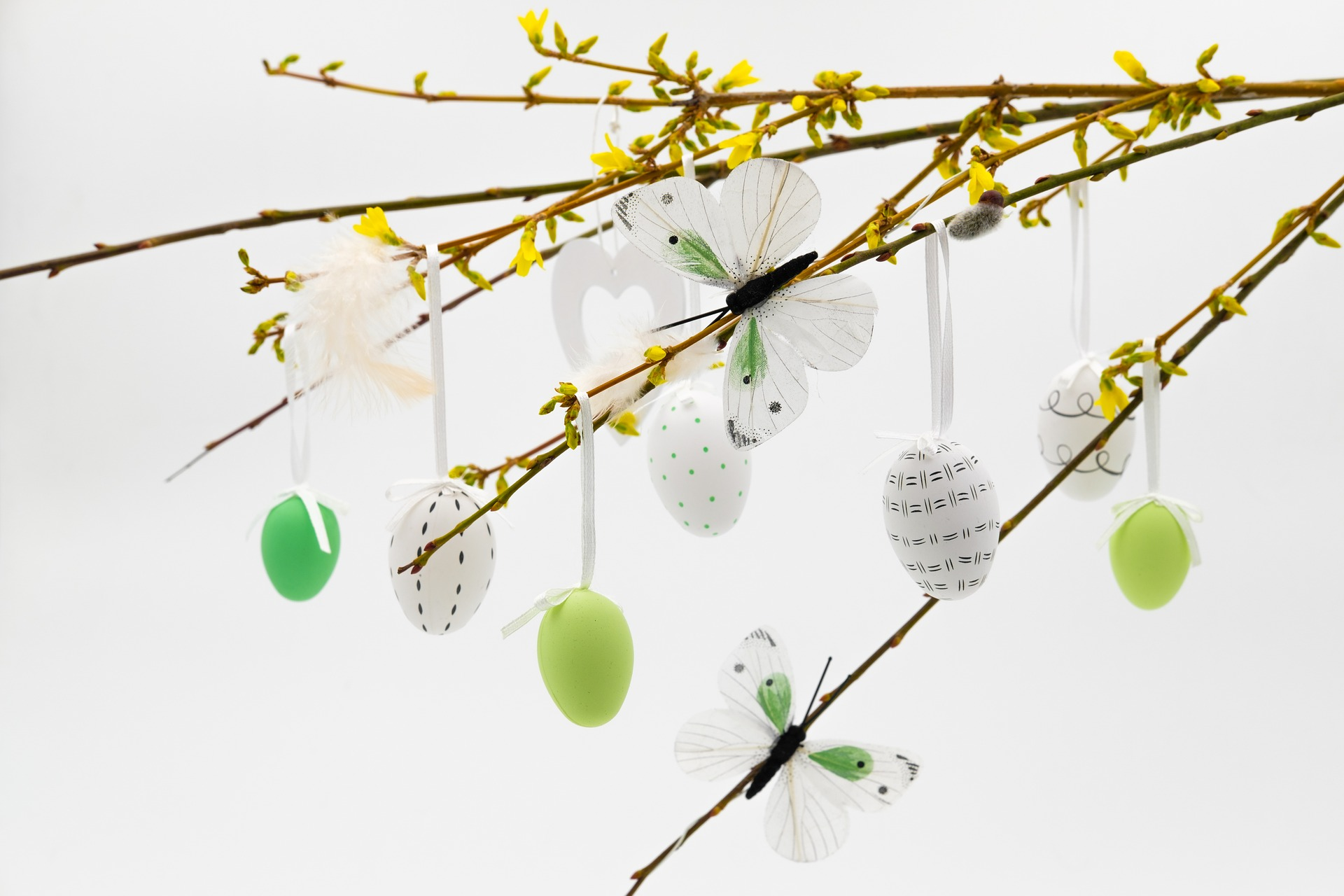 Decorating your student flat - Easter deco